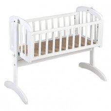 Lopšelis Anna Swinging crib White