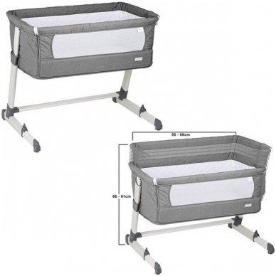 Lopšelis-lovytė Together Grey 2