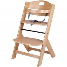 Maitinimo kėdutė medinė Family Natural