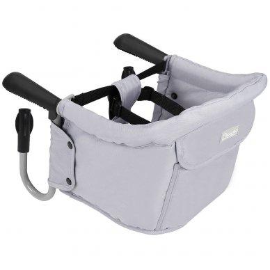 Maitinimo kėdutė BabyGo kelioninė Grey 3