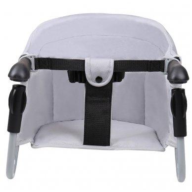 Maitinimo kėdutė BabyGo kelioninė Grey 2
