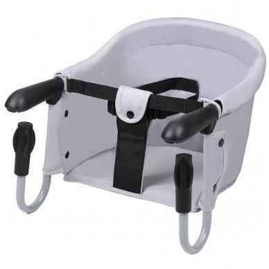 Maitinimo kėdutė BabyGo kelioninė Grey