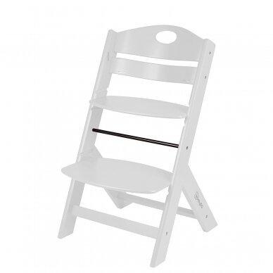 Maitinimo kėdutė medinė Family White 2