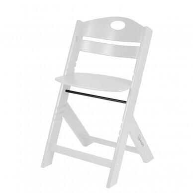 Maitinimo kėdutė medinė Family White 7
