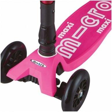 Maxi Micro Deluxe sulankstomas paspirtukas Shocking Pink 7