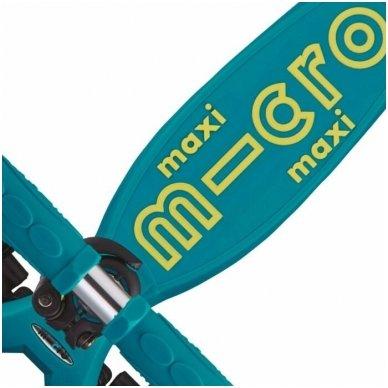 Maxi Micro Deluxe sulankstomas paspirtukas Petrol Green 4