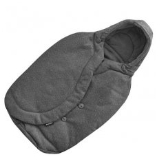 Sleeping bag for Maxi Cosi car seat 0-13 kg, Sparkling Gray