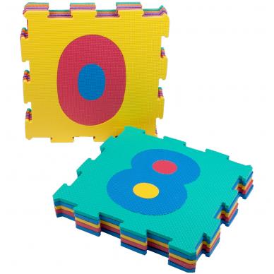 """Minkštas kilimėlis - dėlionė """"Skaičiukai"""" 2"""