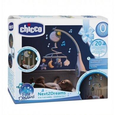 Muzikinė karuselė Chicco NEXTT2DREAM Blue 3