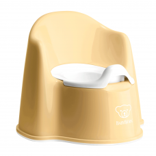 Naktipuodis Babybjorn Potty Chair Yellow/White
