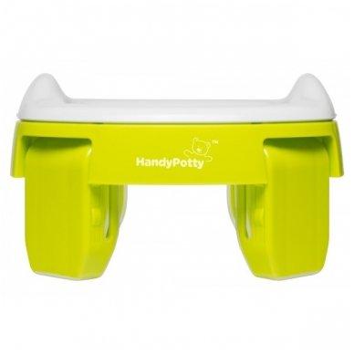 Naktipuodis Roxy Kids HandyPotty 2in1 sulankstomas kelioninis green 5