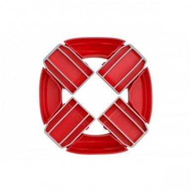Naktipuodis Roxy Kids HandyPotty 2in1 sulankstomas kelioninis red 6