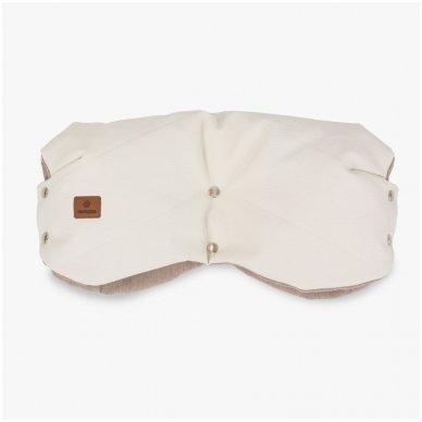 Navington Muff Eco odos pirštinės Royal Snow