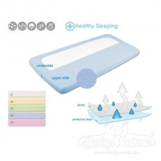 Waterproof & breathable jersey fitted sheet, Babymatex 120*60cm
