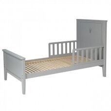Paaugusio vaiko lova Royal 140*70cm ,Grey
