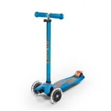 Paspirtukas Maxi Micro Deluxe LED Carribean blue