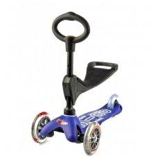 Paspirtukas Mini Micro 3in1 Deluxe mėlynas
