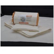 Sheep Wool bedding set Superwash 100*135cm, 40*60cm