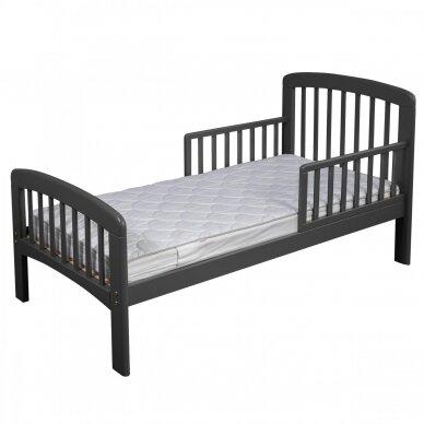 Paaugusio vaiko lova Anna 140*70cm Grey