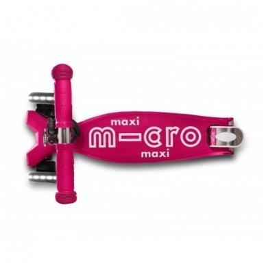 Paspirtukas Maxi Micro Deluxe LED Rožinis 5