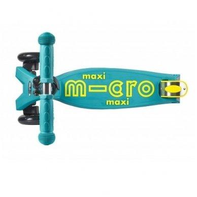 Paspirtukas Maxi Micro Deluxe Petrol Green 3