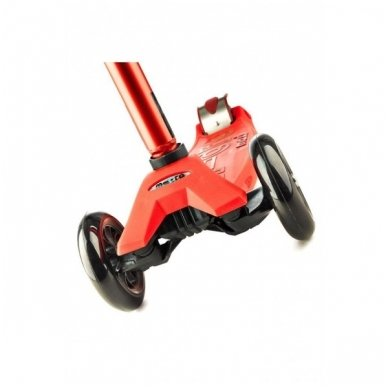 Paspirtukas Maxi Micro Deluxe raudonas 5