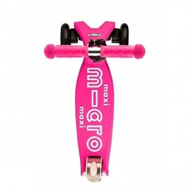 Paspirtukas Maxi Micro Deluxe rožinis 2