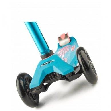 Paspirtukas Maxi Micro Deluxe aqua  (rožinis) 6