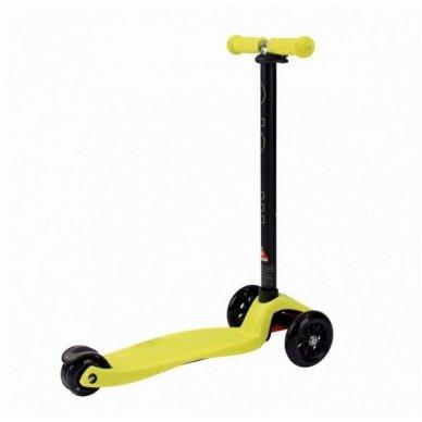 Paspirtukas Maxi-Micro neon geltonas 2