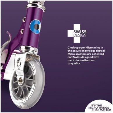Paspirtukas Micro Sprite Special Edition Purple Stripe 11