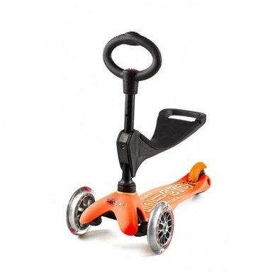 Paspirtukas Mini Micro 3in1 Deluxe oranžinis
