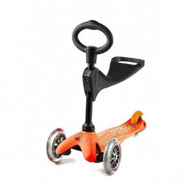 Paspirtukas Mini Micro 3in1 Deluxe oranžinis 2