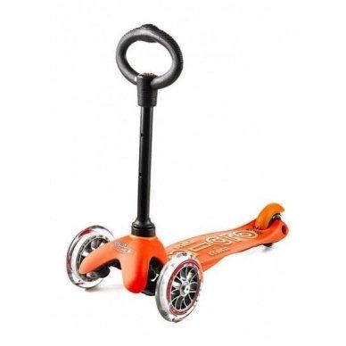 Paspirtukas Mini Micro 3in1 Deluxe oranžinis 3