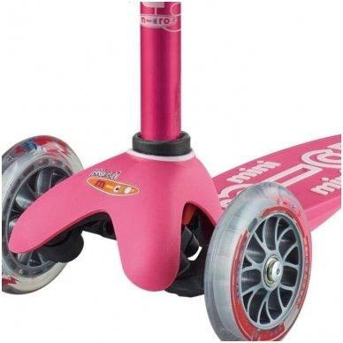 Paspirtukas Mini Micro 3in1 Deluxe Plus rožinis 2