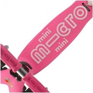 Paspirtukas Mini Micro 3in1 Deluxe Plus rožinis 3