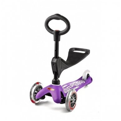 Paspirtukas Mini Micro 3in1 Deluxe violetinis 3
