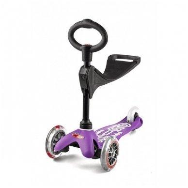 Paspirtukas Mini Micro 3in1 Deluxe violetinis 4