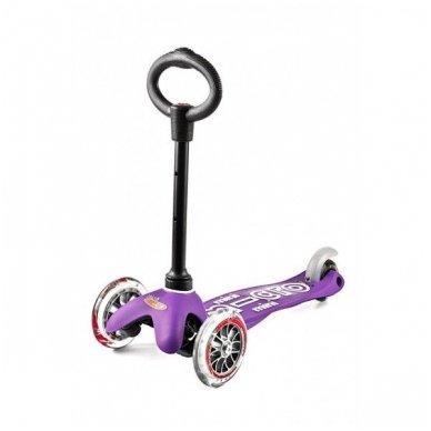 Paspirtukas Mini Micro 3in1 Deluxe violetinis 5