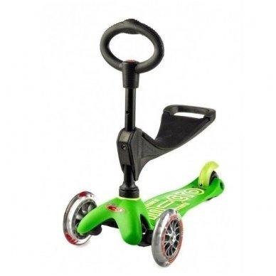 Paspirtukas Mini Micro 3in1 Deluxe žalias 2