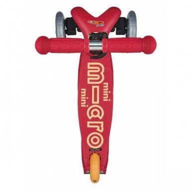 Paspirtukas Mini Micro Deluxe Rubino Raudonas 4