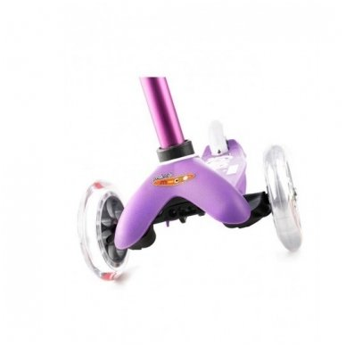 Paspirtukas Mini Micro Deluxe violetinis 4