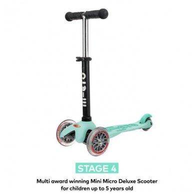 Paspirtukas Mini2go Deluxe Plus mėtinis 7