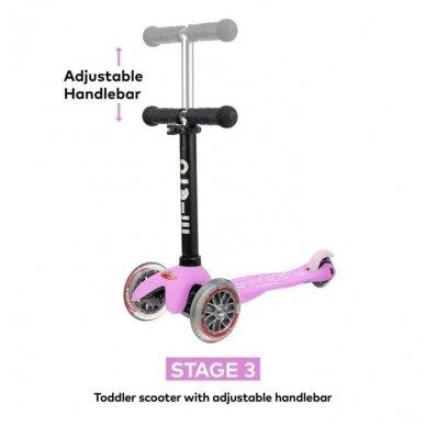 Paspirtukas Mini2go Deluxe Plus rožinis 6