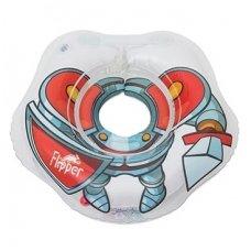 Plaukimo ratas kūdikiams ant kaklo 3D Riteris, Roxy Kids