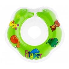 Plaukimo ratas kūdikiams ant kaklo Flipper green, Roxy Kids