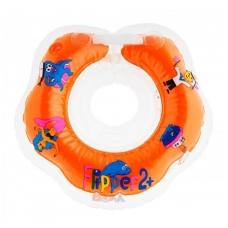 Plaukimo ratas kūdikiams ant kaklo Flipper red, 2+ Roxy Kids