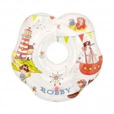 Plaukimo ratas kūdikiams ant kaklo Flipper Robby, Roxy Kids