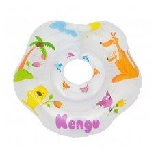 Plaukimo ratas kūdikiams ant kaklo Kengu