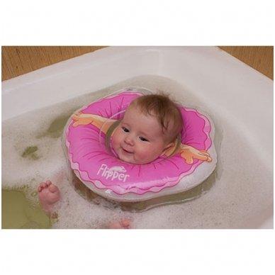 Plaukimo ratas kūdikiams ant kaklo 3D Balerina, Roxy Kids 3