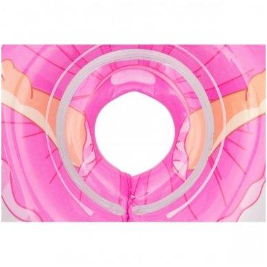 Plaukimo ratas kūdikiams ant kaklo 3D Balerina, Roxy Kids 5